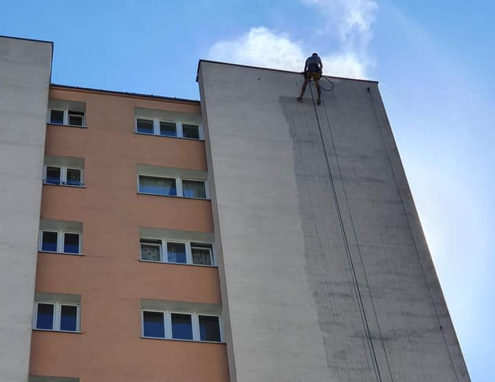 Mycie elewacji Warszawa