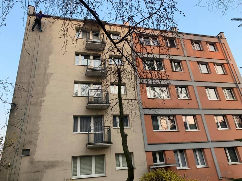 Mycie elewacji Poznań
