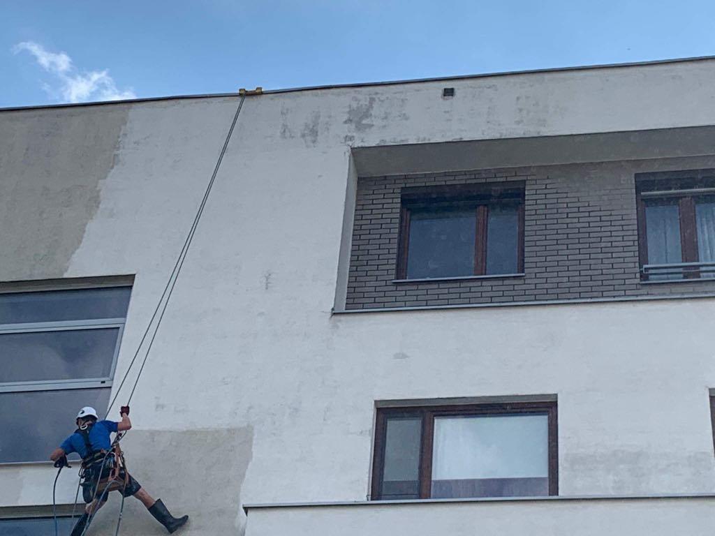 Mycie elewacji Katowice